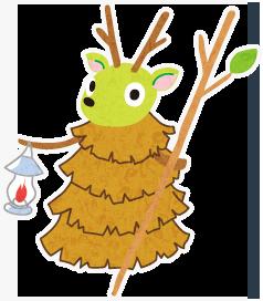 やしろの森の妖精ヤッシー