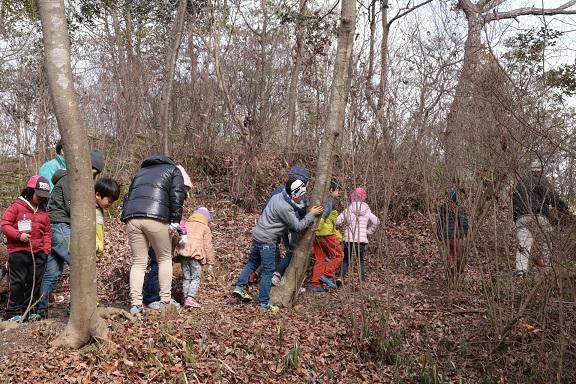 歩いて探そう 森のミステリー       ~モクズガニとサワガニ~