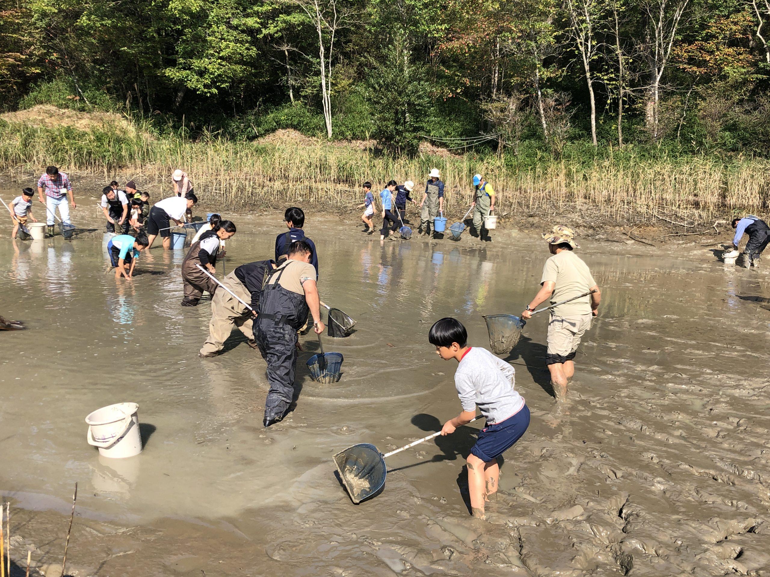 10/24里山保全ボランティア体験(森もりの日)