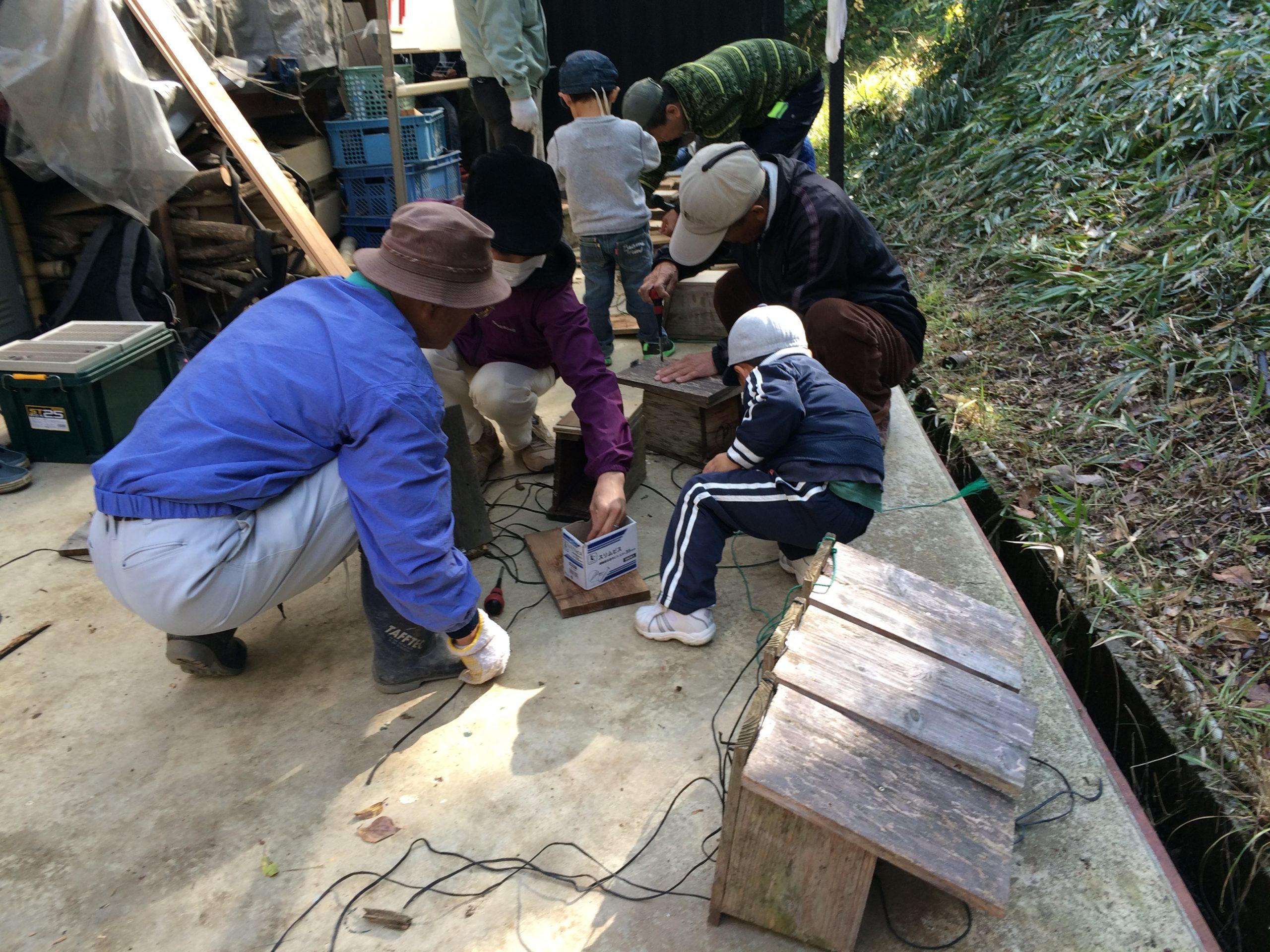 11/14里山保全ボランティア体験(森もりの日)